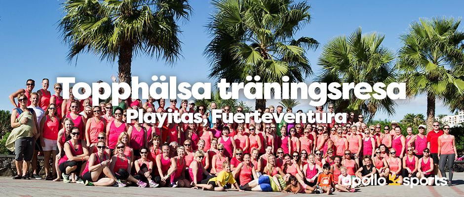 12-19 november 2020 - Träningsresa med Topphälsa på Playitas på Fuerteventura - LÄS MER